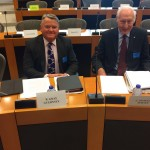 Messrs Powell and Gray at EP TAXE 2 Committee